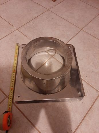 Stożek kominowy stożek z podstawą fi200 2 sztuki