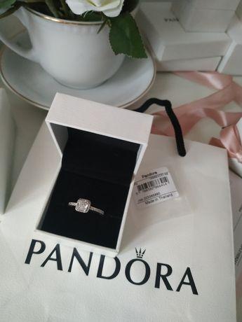 Pandora pierścionek NOWY r. 58