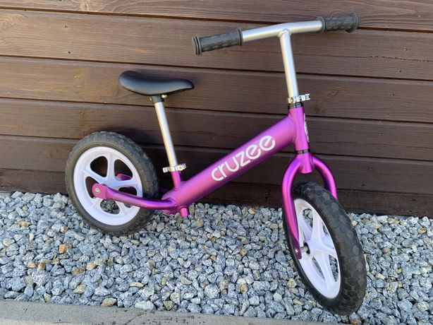 Rowerek biegowy cruzee fioletowy
