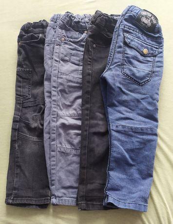 Spodnie chłopięce dżinsowe roz 104