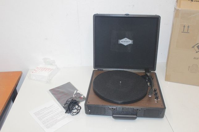 AUNA Gramofon w stylu retro walizka