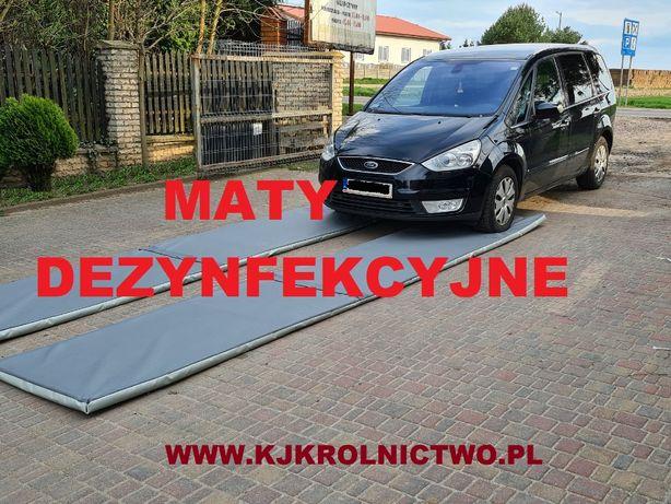Maty, Mata 70x400x5 do dezynfekcji, dezynfekcyjna, Virkon GRATIS
