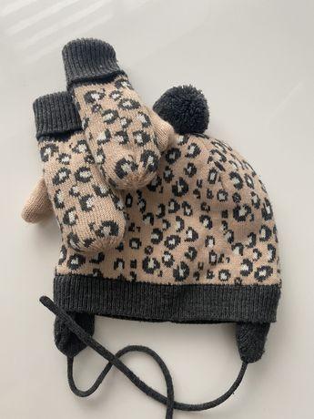 Продам комплект,шапка і рукавички