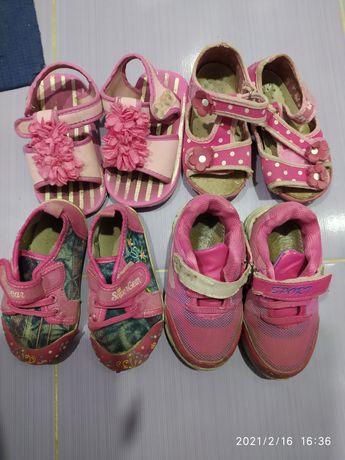 Сандали, кеды , кроссовки на девочку
