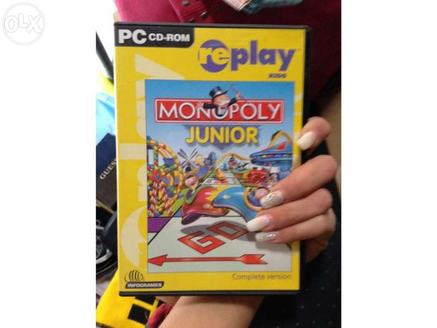 Cd rom pc / jogo monopólio para computador