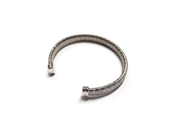 Wyrób jubilerski używany – srebrna bransoletka 925 W.Kruk
