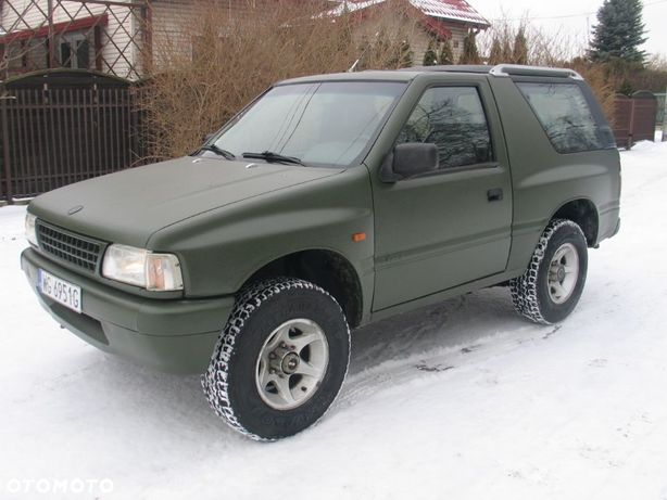 Opel Frontera 2,0 LPG 4x4 ok Raptor po blacharce