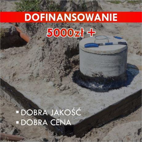 Zbiornik betonowy na deszczówkę Moja Woda Szambo betonowe Szamba