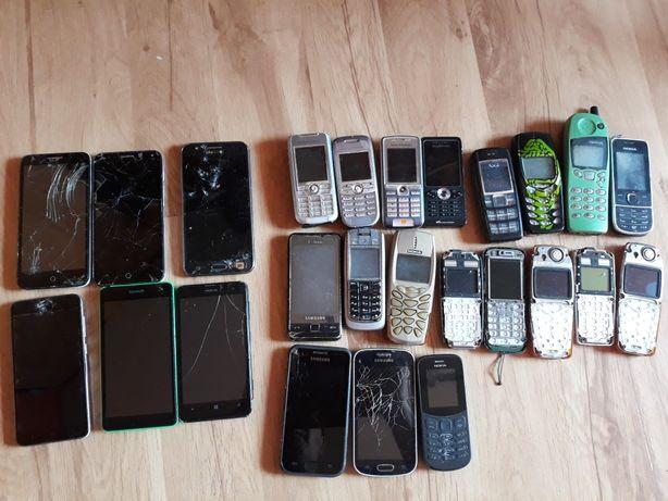 Telefony 25sz różne