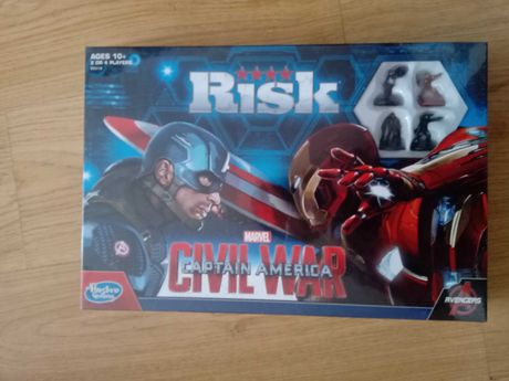 Gra strategiczna Ryzyko AVENGERS - wersja angielskojęzyczna -NOWA