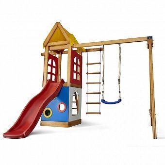 Детский игровой комплекс. Горка, качели для дома