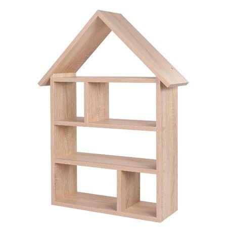 Półka na zabawki-domek dla lalek