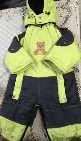 Дитячий зимовий комбинезон