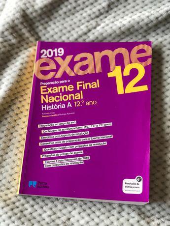 Preparação para o Exame Nacional História A 12°, Porto Editora.