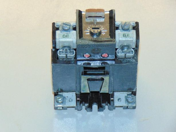 Тепловое реле ТРН-10А на ток:0.5А, 0.63А, 0.8А, 1.0А, 2.0А, 2.5А, 3.2А