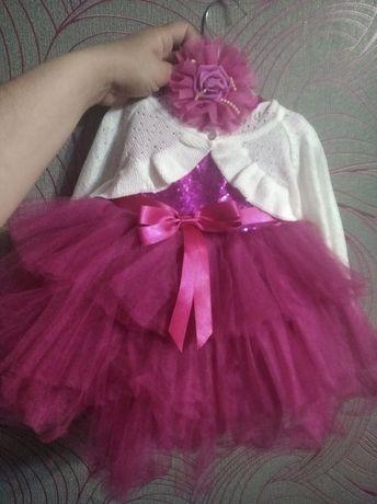Платье на 1 годик