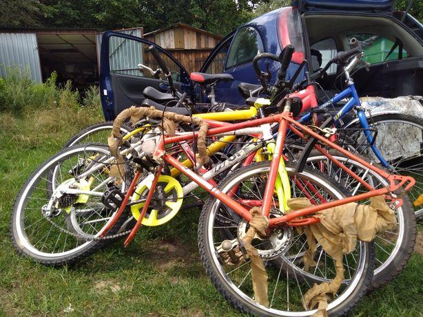 6 Rowerów do remontu za okazyjną cenę