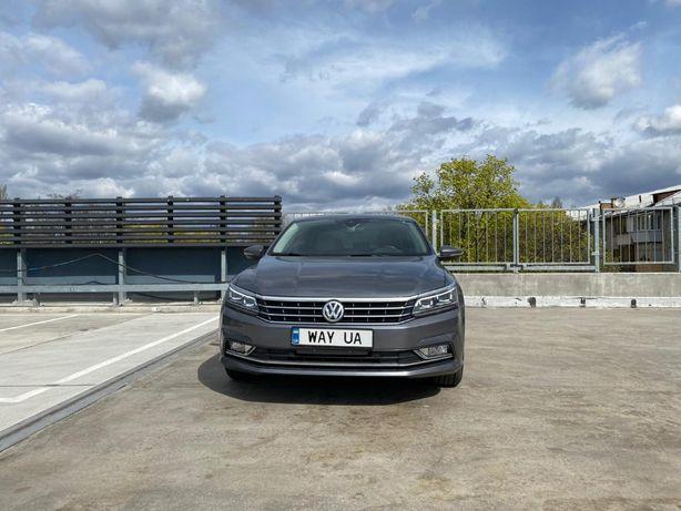 аренда, прокат авто Volkswagen Passat B8, подача авто по городу от 25$