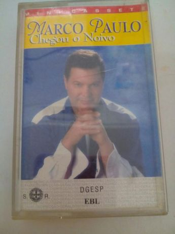 Cassete original Marco Paulo - Chegou o Noivo