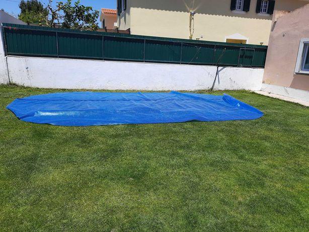 Cobertura solar piscina