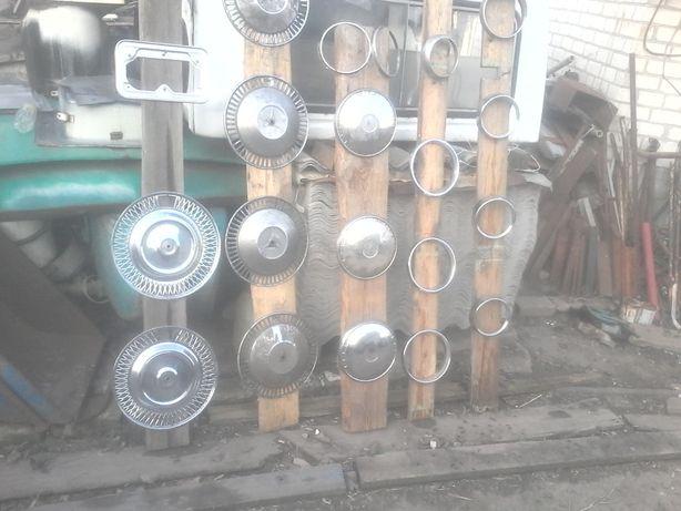 Колпаки никелированные (Ободок фары Рамка номера )