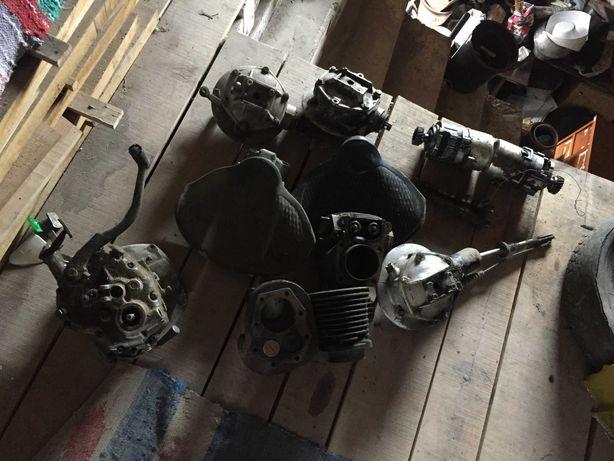 Двигатель , КПП 2000грн, мост, и другое для мотоцикла К 750