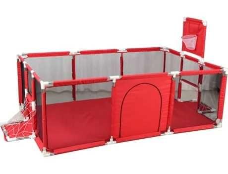 Parque bebé Insma IS-P4 vermelho (190x129x60 cm)