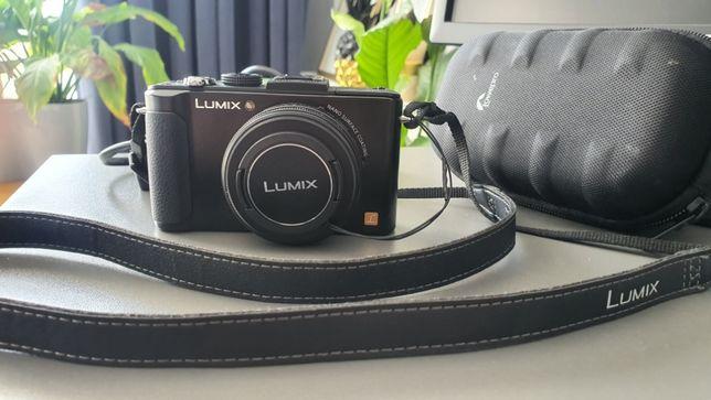 Panasonic Lumix DMC LX7 stan idealny jasny obiektyw kompakt aparat fot