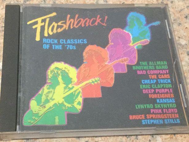Płyta cd. The rock classic of the 70s najlepsze nagrania