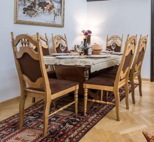 Krzesła drewniane antyczne, 6 szt. Krzesło antyczne,