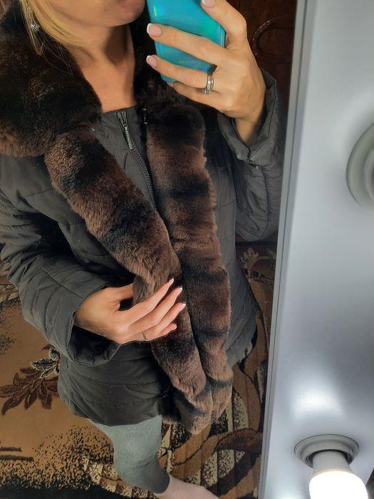 Курточка,пуховик,Aerfield c медвежим мехом оригинал Днепр - изображение 1