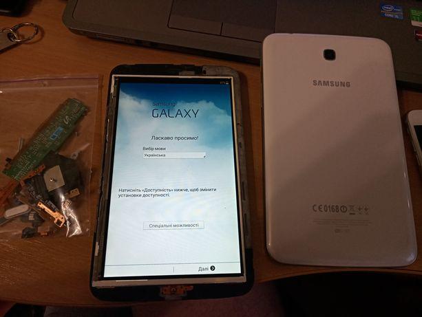 Samsung Tab 3 T210 разборка по запчастям дисплей крышка