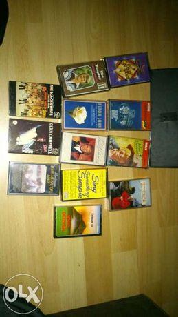 sprzedam zestaw kaset z muzyką oryginał