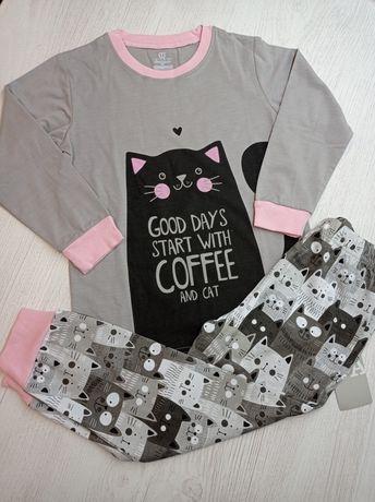 Пижамы детские для девочек 2-7 лет