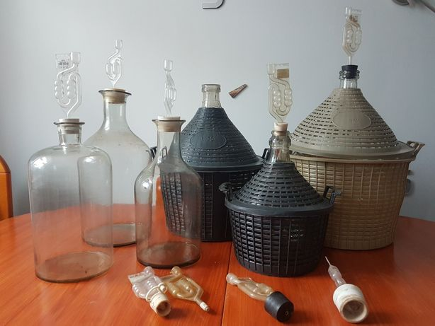 Butle na wino (gąsiory )