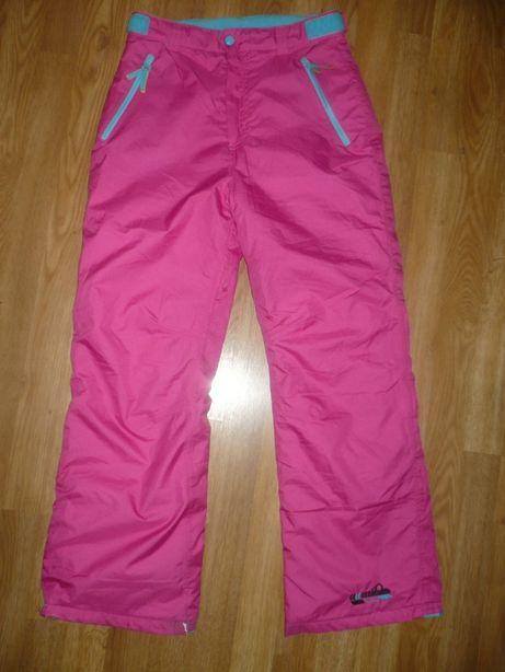 Штаны лыжные розовые 10-12 лет 146-152р.В отличном состоянии