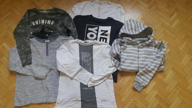 Bluzki chłopięce ZARA w różnych rozmiarach