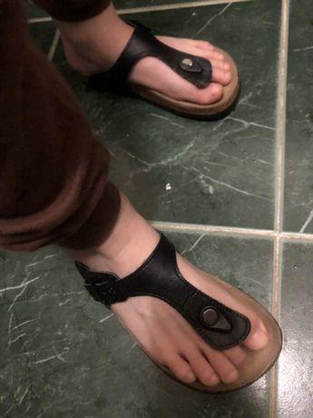 Ортопедические шлёпанцы вьетнамки черные Giorgio 32p/21cm 190грн