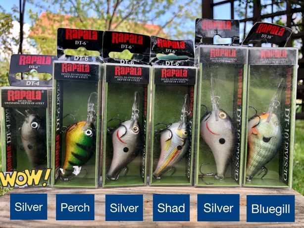 Воблера Rapala dives-to DT-4 DT-6 DT-10  Jointed Shad Rap - 9