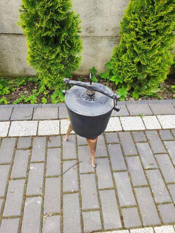 Kociołek żeliwny garnek na pieczonki 7 litrów