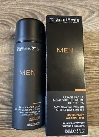 Academie Men Гель без пены 3 в 1 для умывания, легкого бритья и увлажн