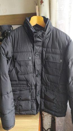 МУЖСКАЯ зимняя куртка! Практически новая! Очень теплая!