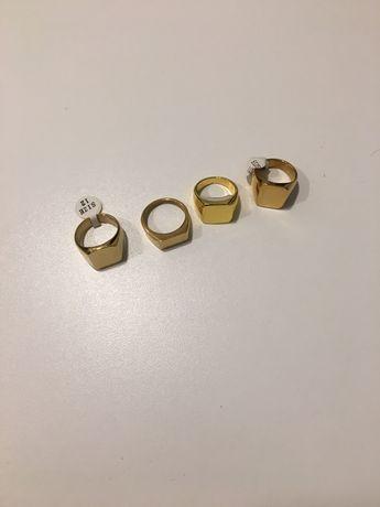Anéis de ouro (imitação)