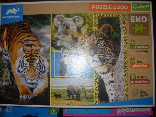 nowe puzzle 1000szt trefl