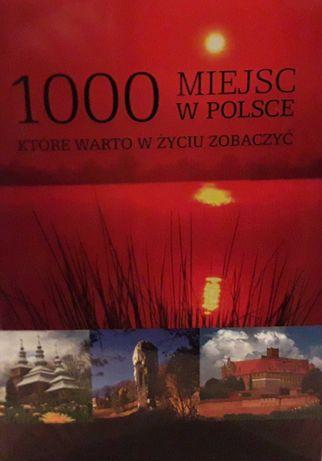 Ksiazka - 1000 miejsc w Polsce - 50 zł