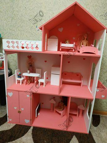 Кукольный домик Барби