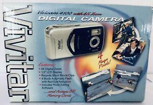 Aparat Cyfrowy Vivitar ViviCam 4100 4.0MP Digital Camera - Black Silve