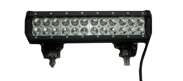 Светодиодная Фара 72W, LED Фара,Балка, Прожектор, Фара Рабочего Света