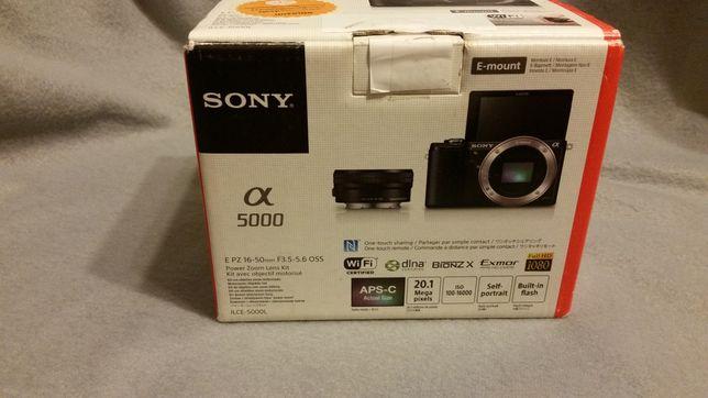 Aparat Sony Alpha 5000, a5000 + gratisy
