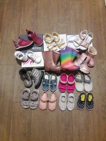 Ботинки, туфли, босоножки, сапоги, Ecco, Geox, Crocs, Next 19-25р.